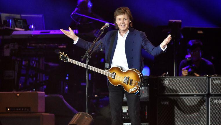 De Britse zanger Paul McCartney. Beeld EPA
