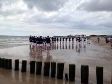 Deltaband Vlissingen speelt met de voeten in zee