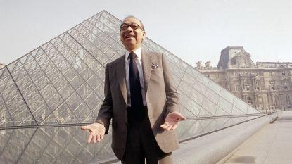 Architect piramides van het Louvre overleden