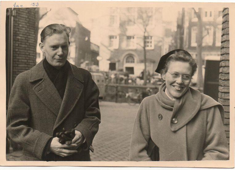 Jeanne en haar man Jan van der Eng Beeld Trouw