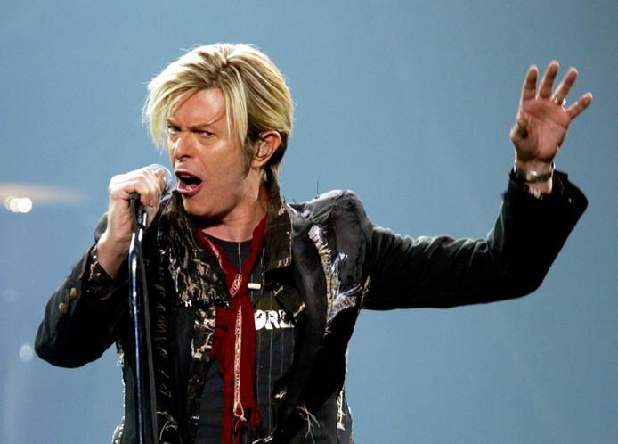 David Bowie in 2013.