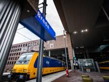 Station Breda: vaak wachten op de trein