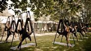 Meirdam plant nieuwe reeks aerial outdoor yoga