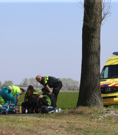 Motorrijdster gewond na val in Cromvoirt