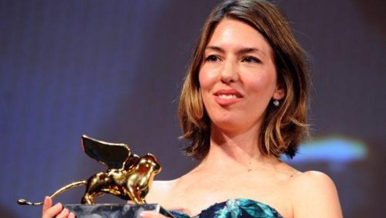 De Amerikaanse regisseur Sofia Coppola met de Gouden Leeuw voor de beste film. ANP Beeld