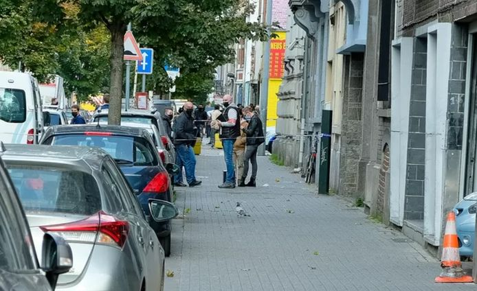 Les faits se sont déroulés rue Heyvaert, à la limite entre Molenbeek et Bruxelles-ville.