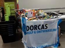 Schouwenaren geven gul boodschappen voor armeren in Oost-Europa