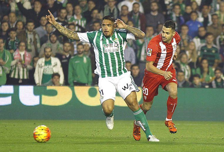 Derby Real Betis - Sevilla eindigt onbeslist. Beeld epa