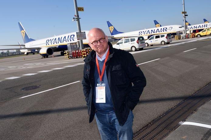Le Ministre wallon du Budget et des Finances, des Aéroports et des Infrastructures Sportives, Jean-Luc Crucke (MR), vient de rendre visite à l'aéroport de Charleroi qui est à l'arrêt depuis le 24 mars dernier