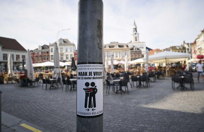 Bergen op Zoom is een coronahotspot geworden in Nederland.