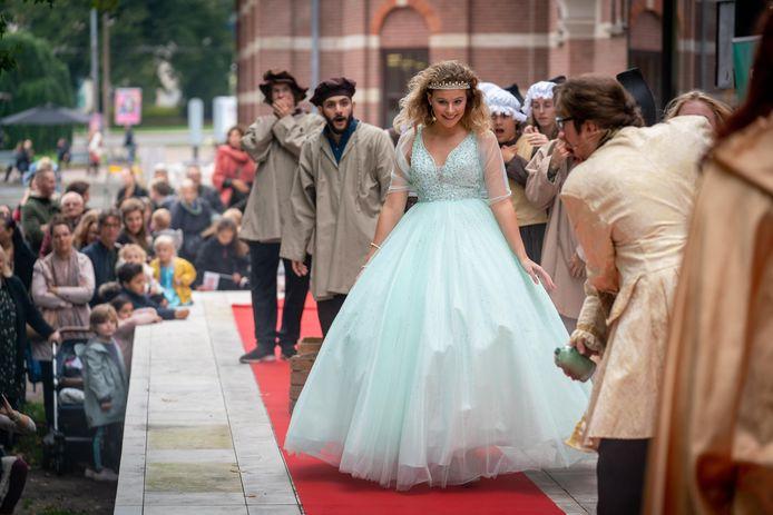 Sprookjesfestival, met prinses Arnerijntje als stralend middelpunt.