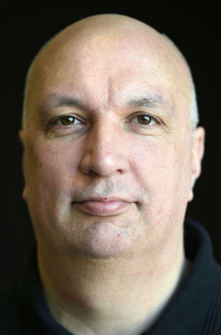 Edwin Roos Hoefgeest, algemeen leider. Beeld Marcel van den Bergh