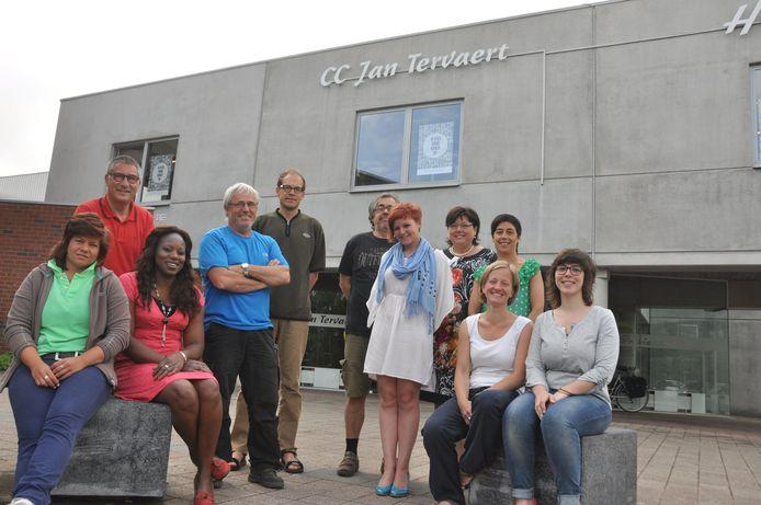 De medewerkers van CC Jan Tervaert zijn klaar voor een feestweekend.