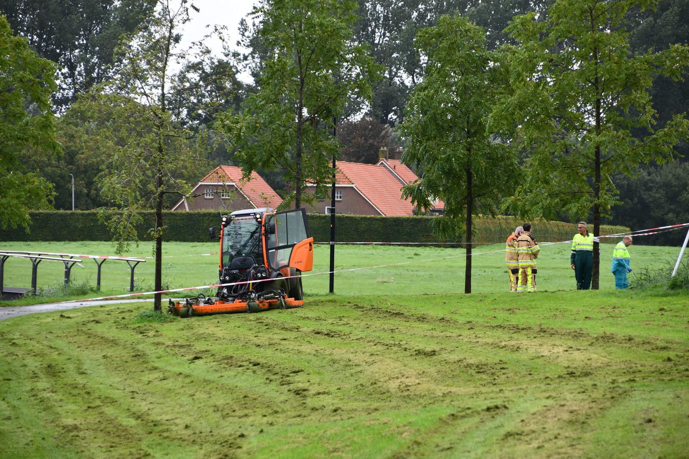 Het ongeluk vond vorige week woensdag plaats in Kampen.