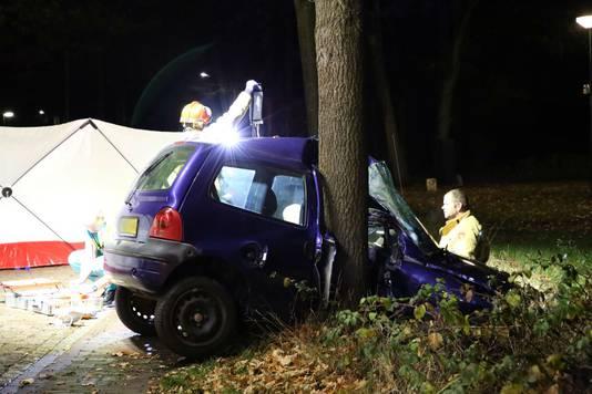 Ongeval in Netersel.