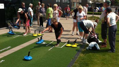 Sportdag op maat van senioren: wandelen, fietsen, yoga, volksdans, aquagym...
