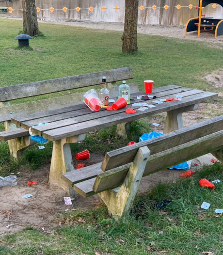 Feestvierders trekken naar Prinsenbos voor illegaal feestje