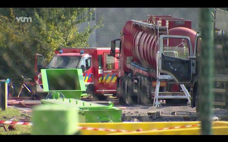 Bij de explosie bij Indaver in de Antwerpse haven vielen 1 dode en 4 gewonden.