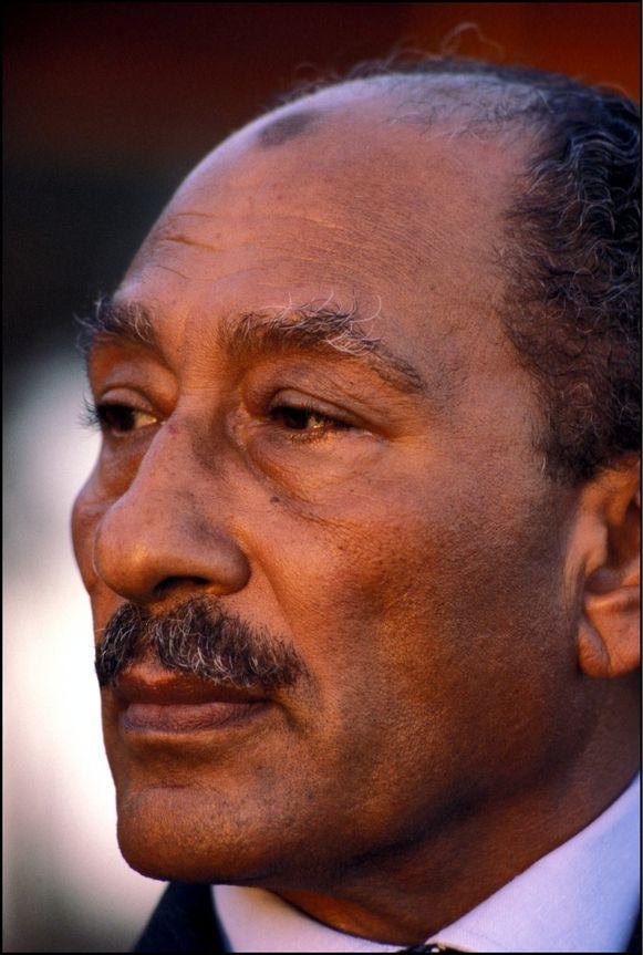 Anwar al-Sadat.