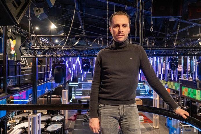 Tim Van Campenhoudt, manager van discotheek Carré in Willebroek