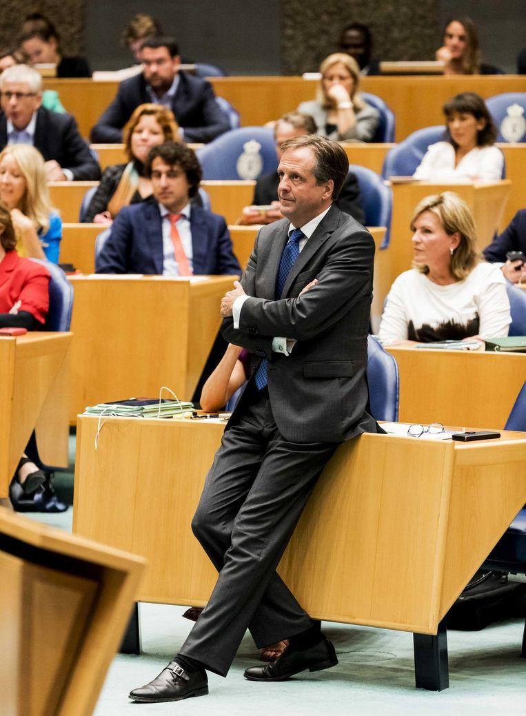 D66-leider Pechtold. Beeld anp