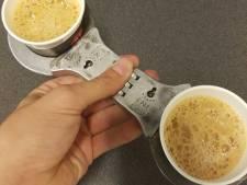 'Geboeid' kopje koffie Veluwse politie