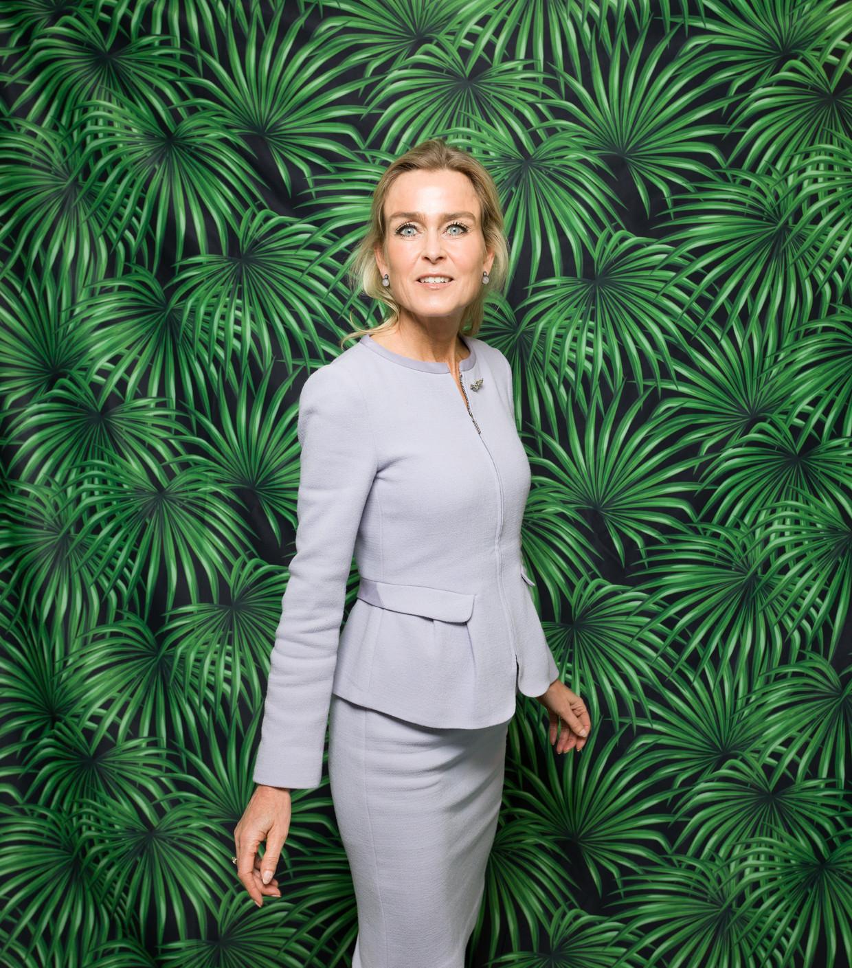 Barbara Baarsma:  'Ik blijf een voorstander van vrijhandel. Wel moet er een beter evenwicht komen tussen internationaal en lokaal.' Beeld Ivo van der Bent