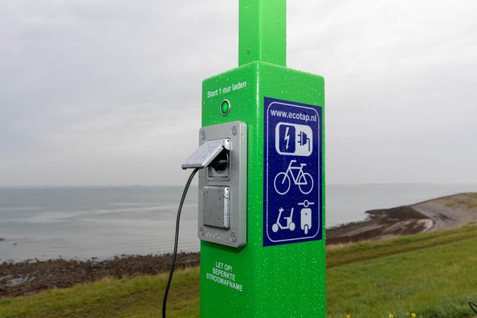 Op de rustpunten komen onder meer laadpalen voor elektrische fietsen