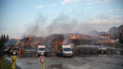 Schot's Vishandel gaat in vlammen op