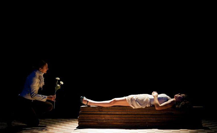 Een beeld uit 'Romeo & Julia'.