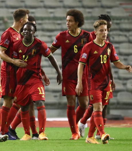Les Diables Rouges vont conserver leur première place au classement FIFA