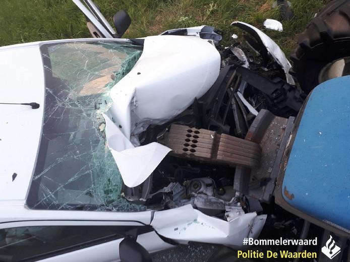 Botsing met dronken bestuurder in Nieuwaal