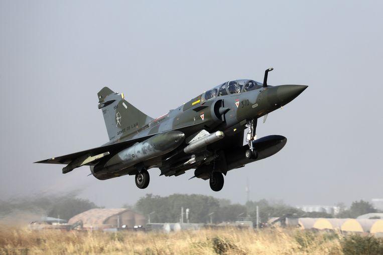 Een straaljager van het type Mirage 2000 is in Frankrijk van de radar verdwenen.