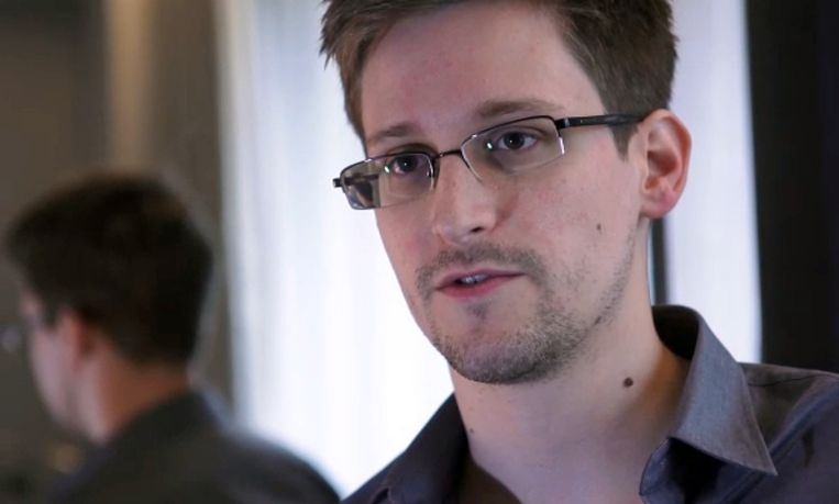 Edward Snowden Beeld AFP/The Guardian