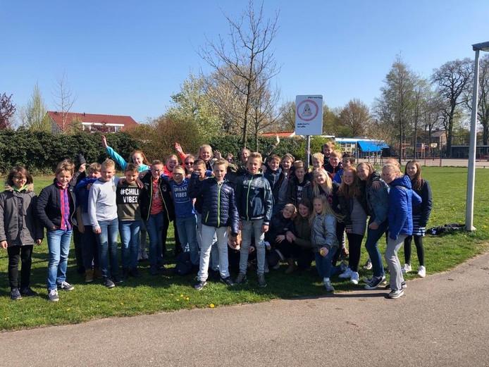 De leerlingen van IKC Magenta