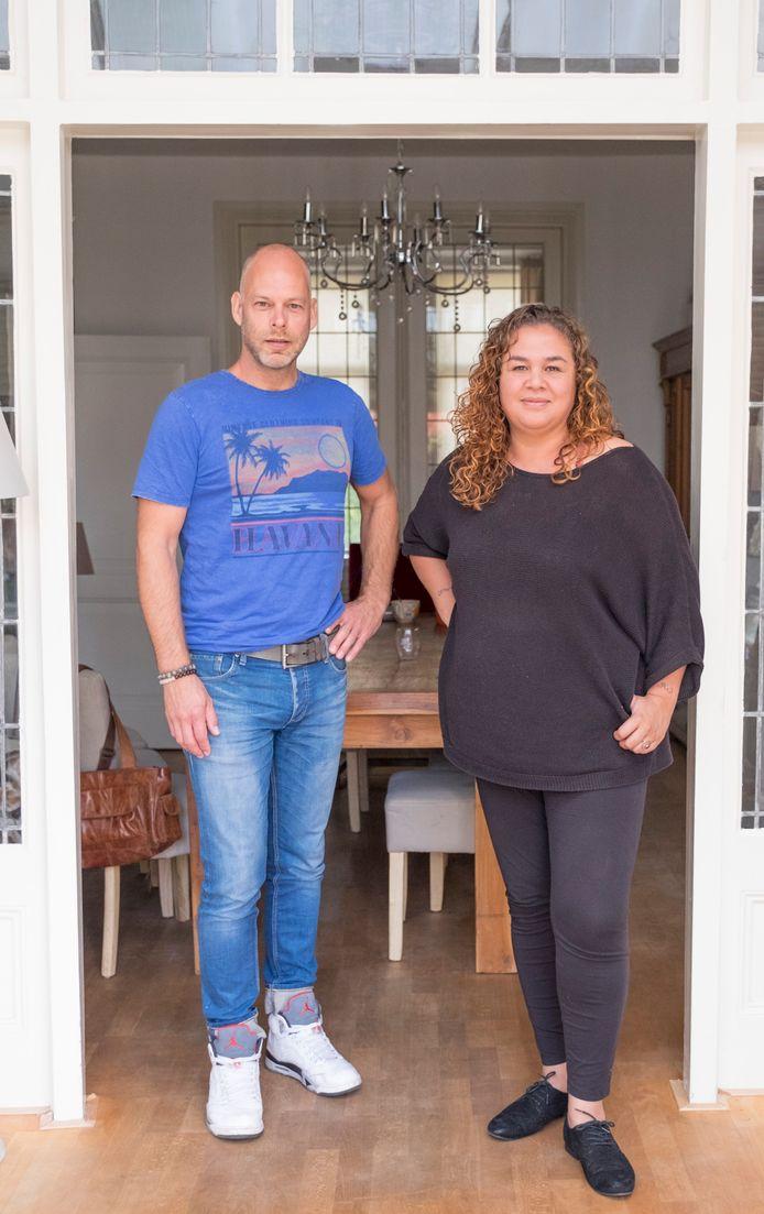 Rachelle Verhage en Johan Katerberg.