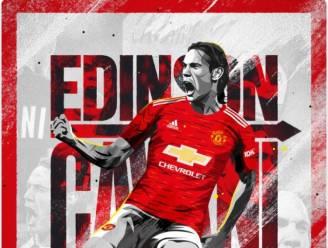 Goalgetter Edinson Cavani naar Manchester United