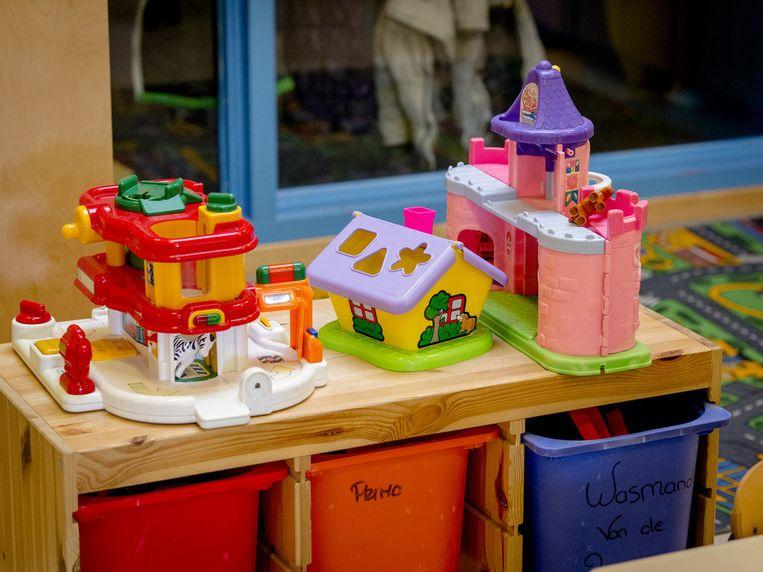 Speelgoed in een kinderopvang. Beeld ANP