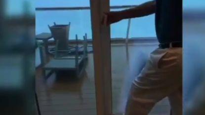Vlaams koppel beleeft nachtmerrie op cruiseschip dat in orkaan terechtkomt