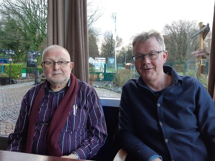 Vader en zoon Oldejans, twee weken geleden in Assen.