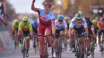 """Kittel spurt naar eerste zege bij Katusha in nerveuze finale Tirreno-Adriatico: """"Kon nog nooit in Italië winnen"""""""