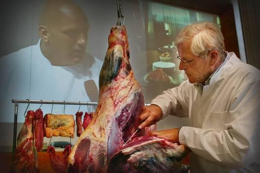 Piet van den Berg is een grote naam in de slagerswereld.