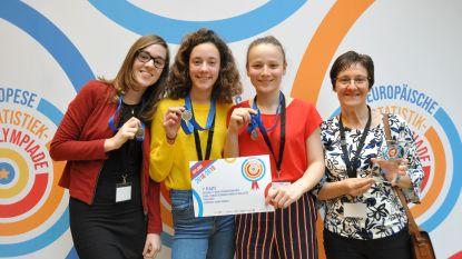 Team Ansofi wint Europese Statistiekolympiade