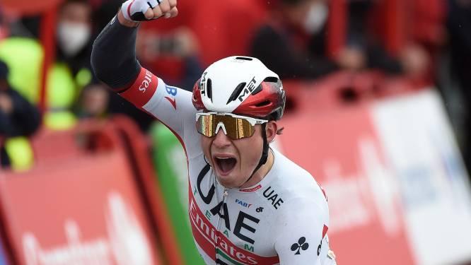 """Prijs voor Jasper Philipsen: """"Ik heb een hele Vuelta op het juiste moment gewacht, het is onverwacht dat het net vandaag kwam"""""""