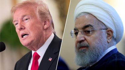 """Trump waarschuwt Iran: """"Bedreig de Verenigde Staten nooit meer, of de gevolgen zullen ongezien zijn"""""""