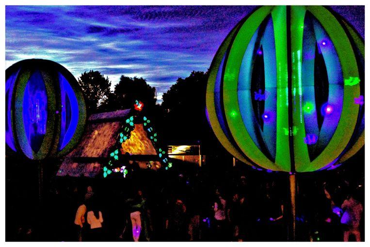 Solstice Festival op Ruigoord.  Beeld