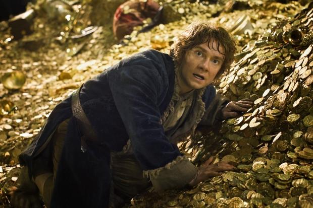 Martin Freeman als de hobbit.