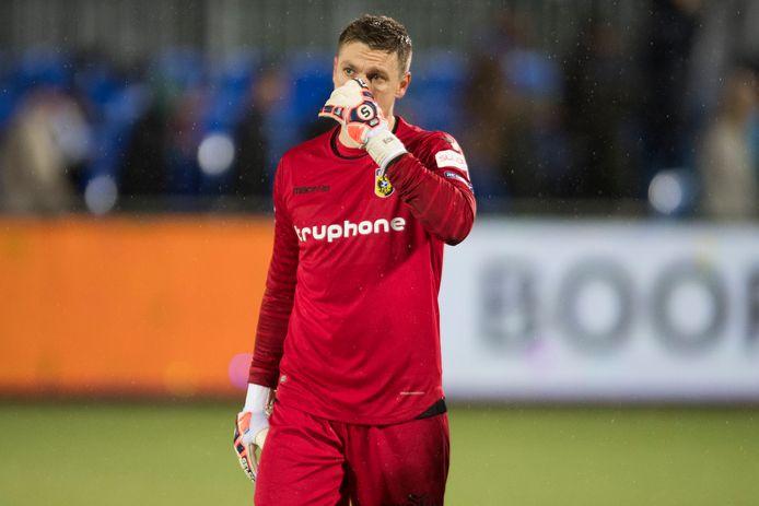 Vitesse-doelman Michael Tornes.