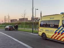 Motoragent na valpartij in Breda nagekeken in ambulance