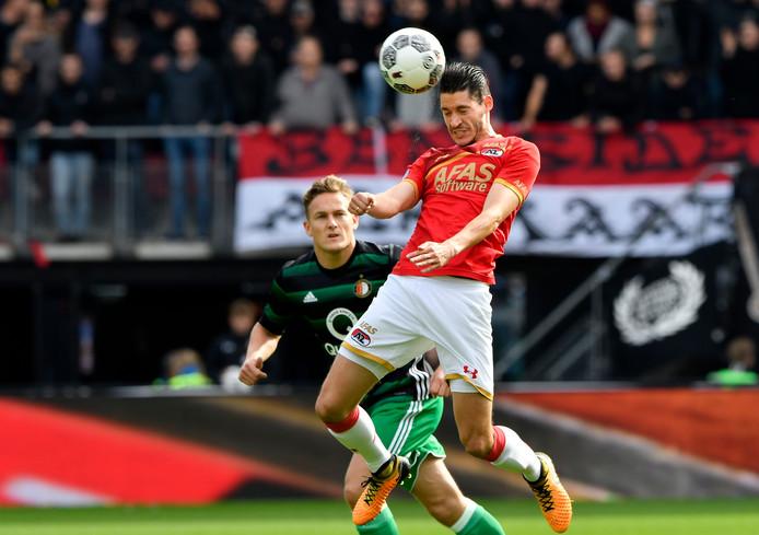 Marko Vejinovic mag van AZ op zoek naar een andere club.